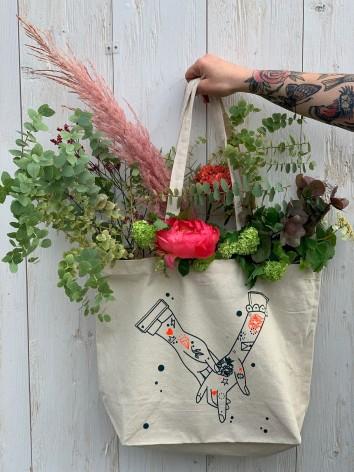 Bouquet Dans sac Les amoureux