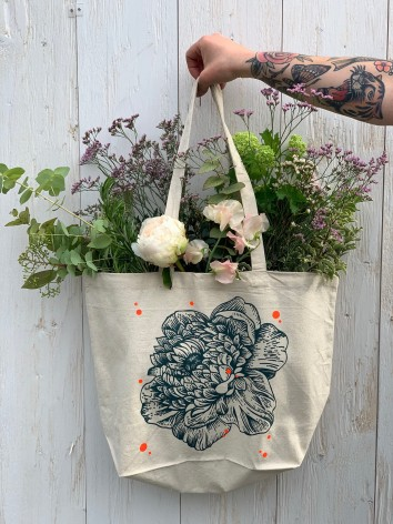 Bouquet dans sac Dot flower