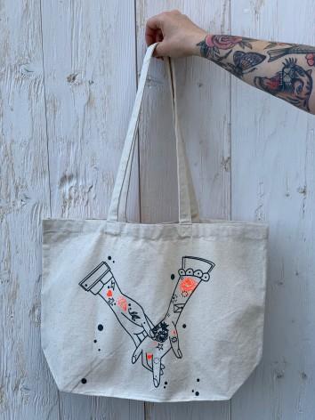 "Tote bag ""Les amoureux"""